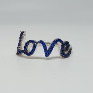 Jewelry - Sterling Silver Love Ring